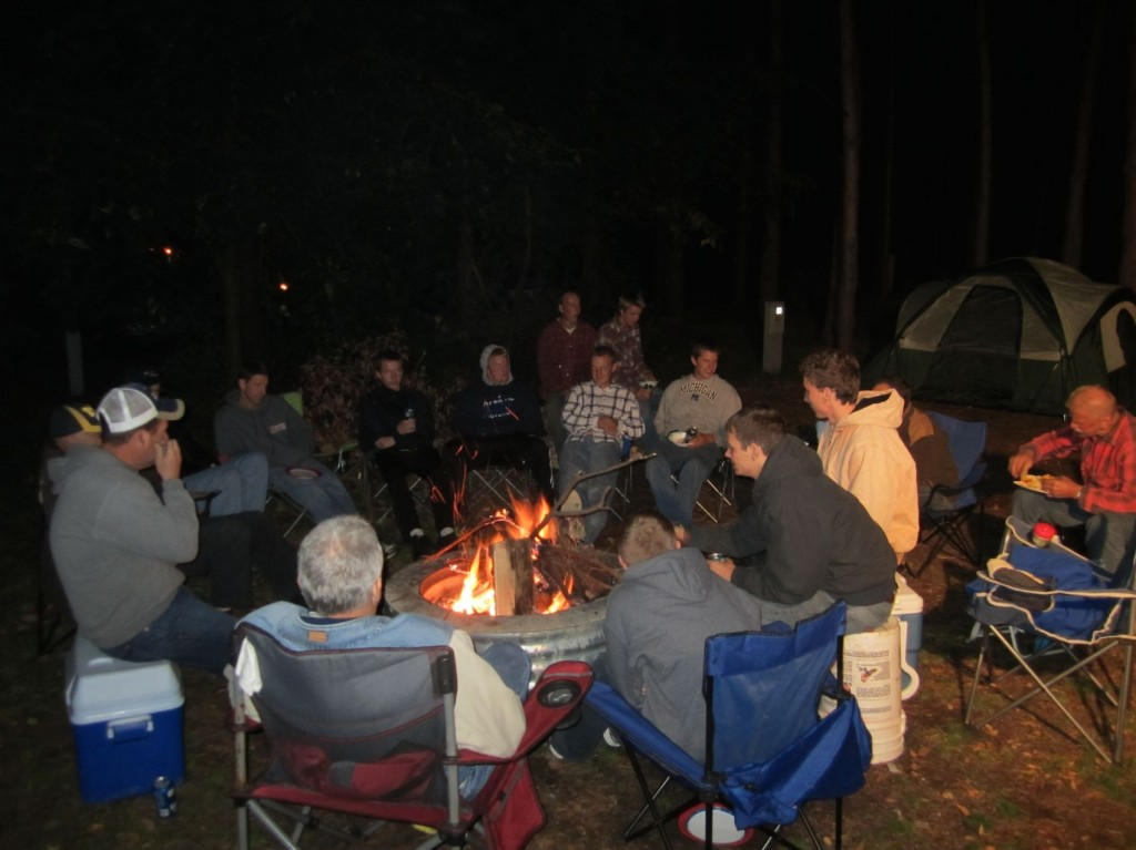 Men's Campout 2014 First PRC Holland 2