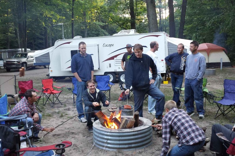 Men's Campout 2015 Holland PRC