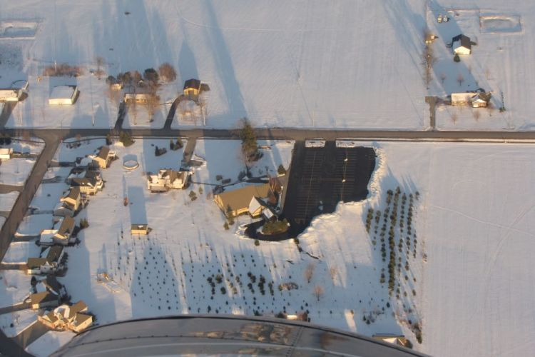 First PRC Holland aerial winter