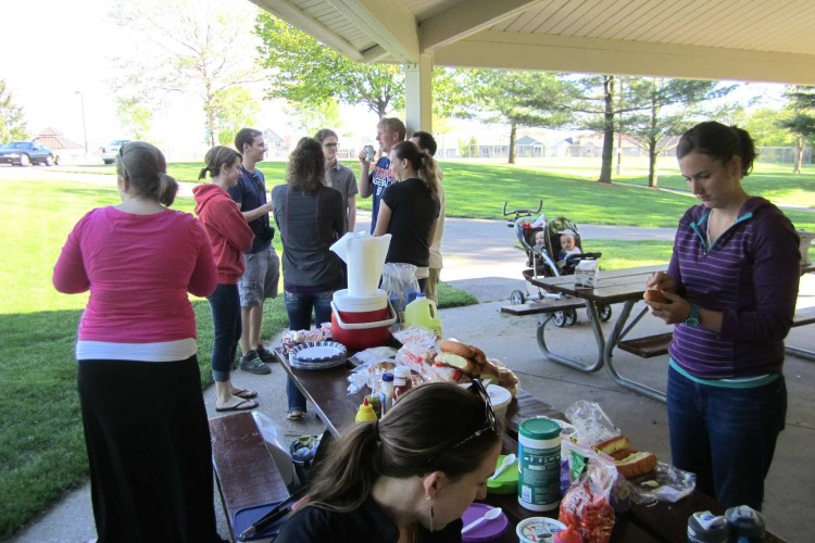 Young Adults Picnic 2014 First PRC Holland 2