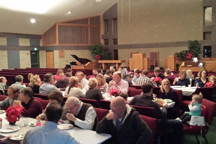 Christmas Dinner 2015 Holland Protestant Reformed Church