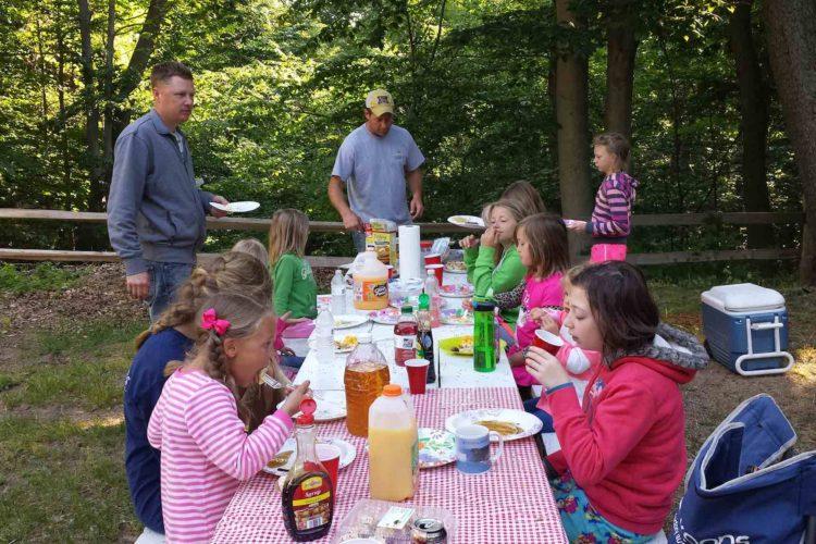 Father-Daughter Campout 2016